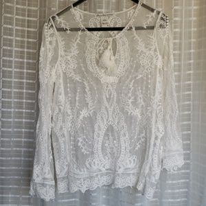 American Rag laced top